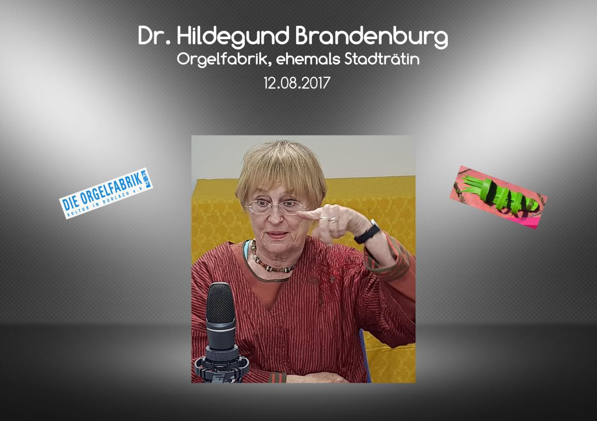 13.08. Dr. Hildegund Brandenburg