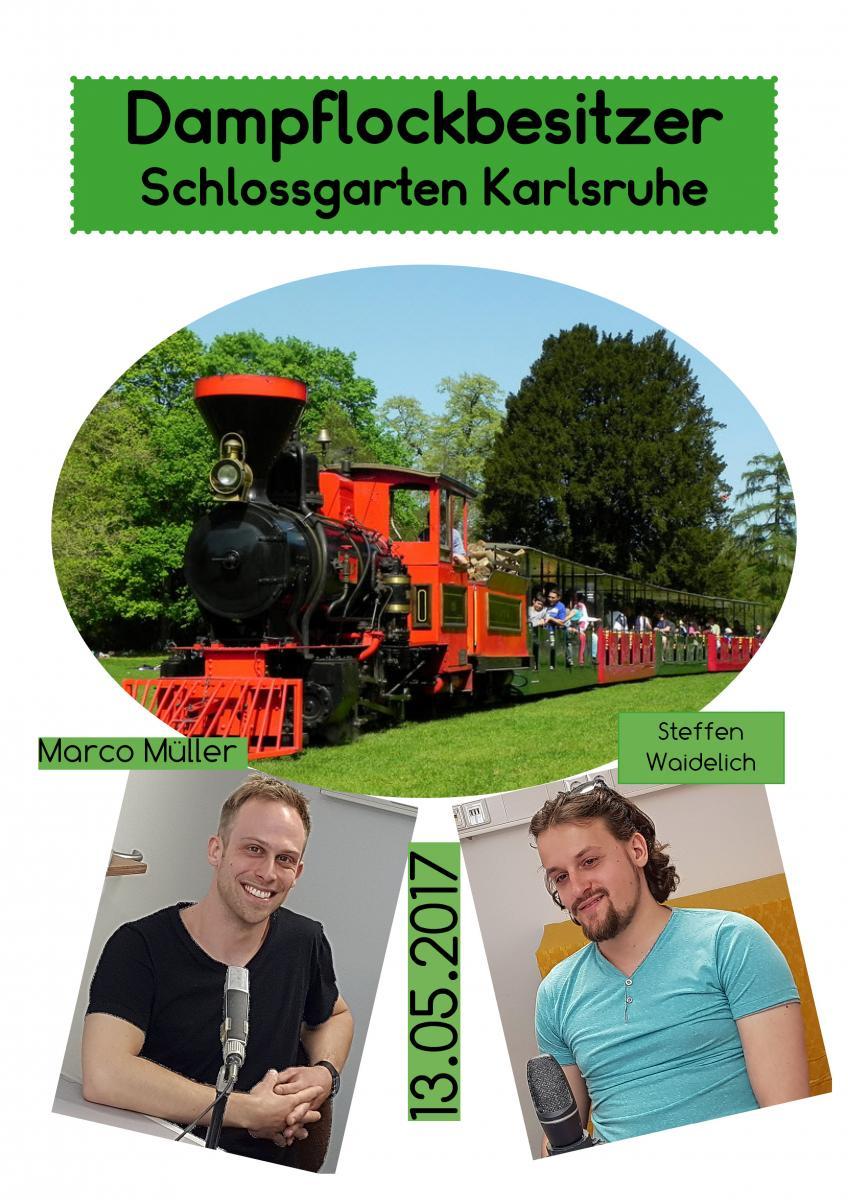 13.05. Dampflockbesitzer Schlossgarten KA