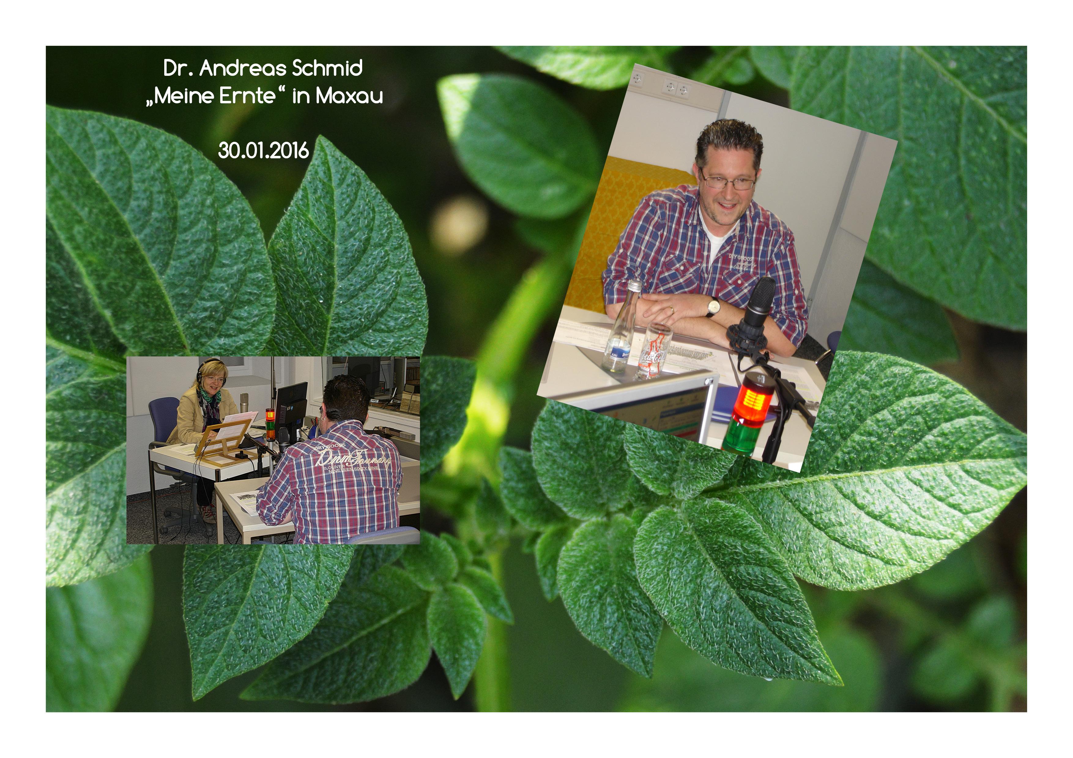 30.01. Dr. Andreas Schmidt