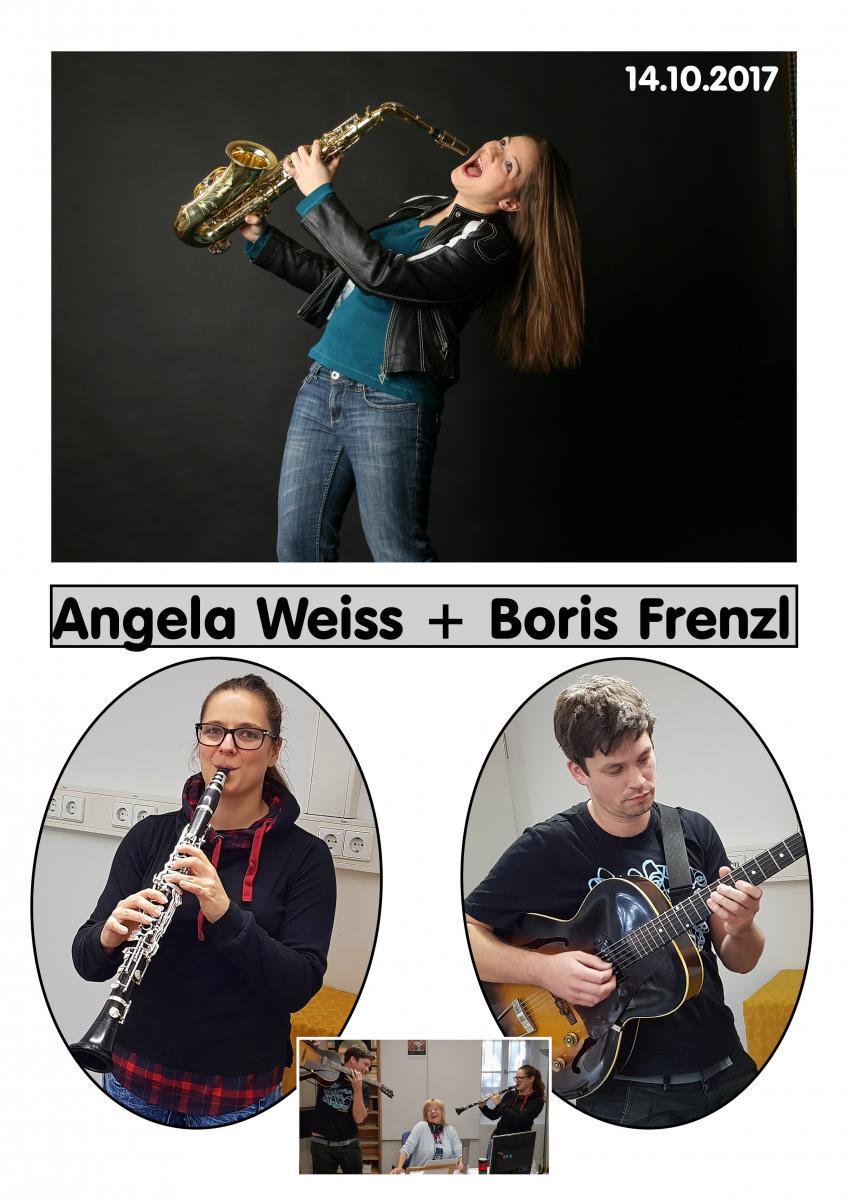 14.10. Angela Weiss & Boris Frenzl